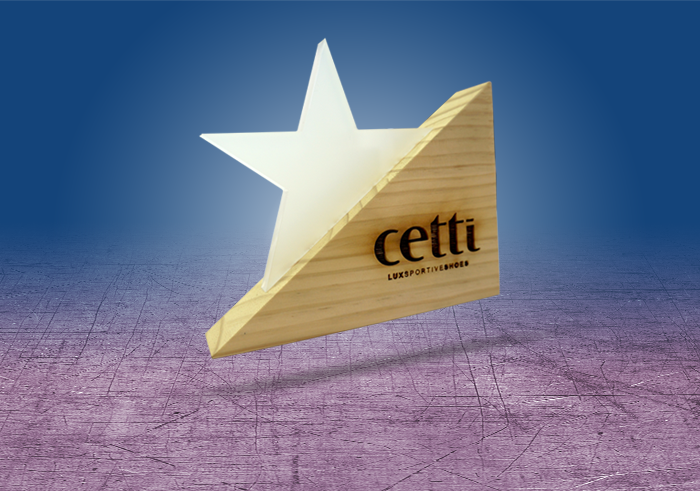 Cetti: Display logo quemado