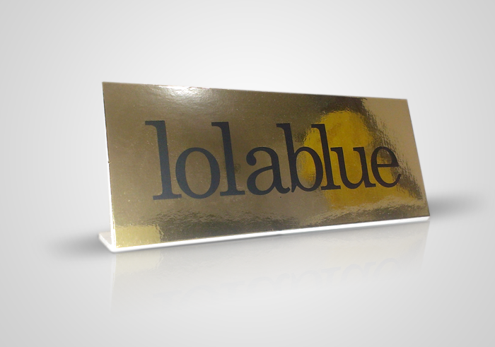 Lola Blue display oro