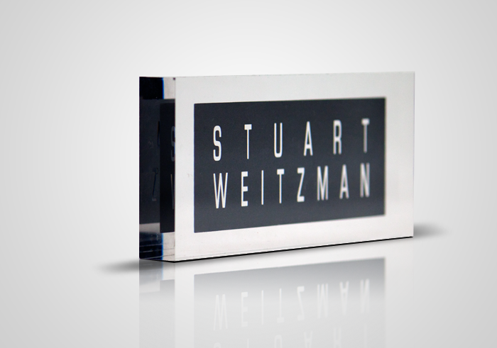 Stuart Weiztman display